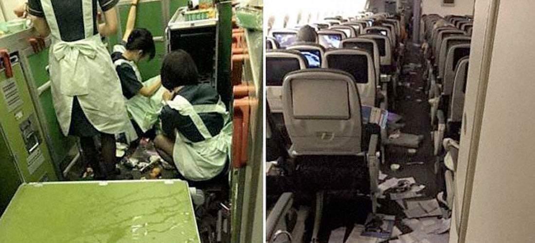 11 personas heridas tras fuerte turbulencia en vuelo de Eva Air entre Taipei y Chicago