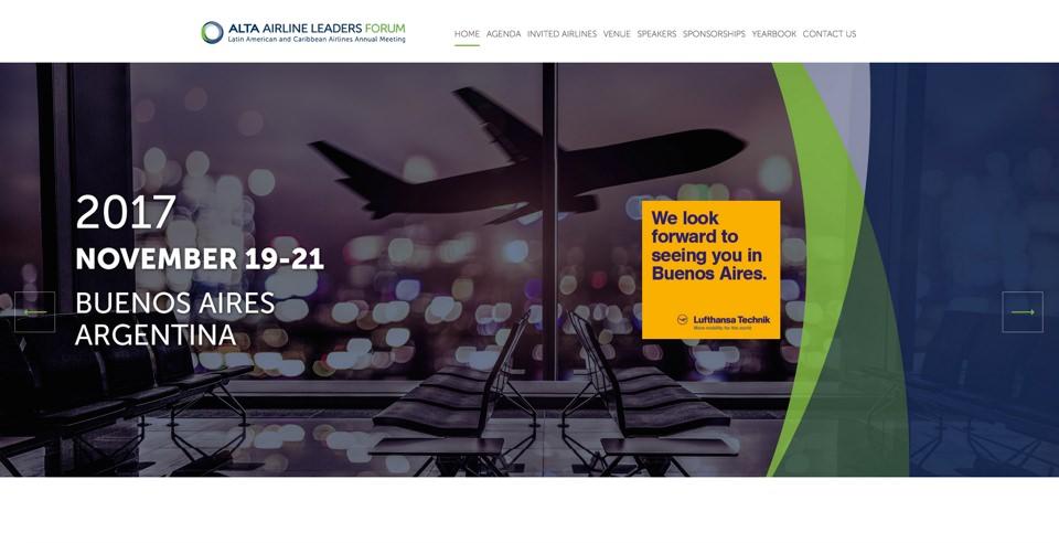 14º  Foro Anual de  Líderes de Aerolíneas de ALTA Llevándose a Cabo esta Semana en Buenos Aires