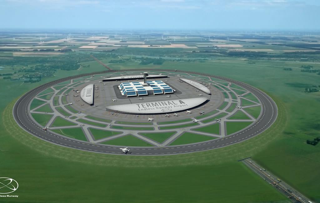The Endless Runway: Una propuesta para los aeropuertos del futuro, serán circulares