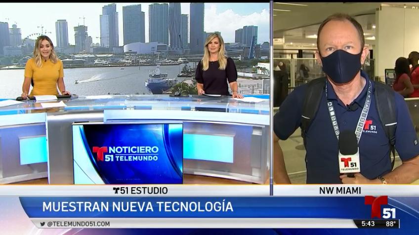 Aeropuerto de Miami estrena equipos para revisar equipajes y pasajeros sin hacer contacto