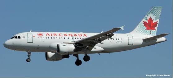 Air Canadá añadirá más vuelos a Colombia a partir de diciembre