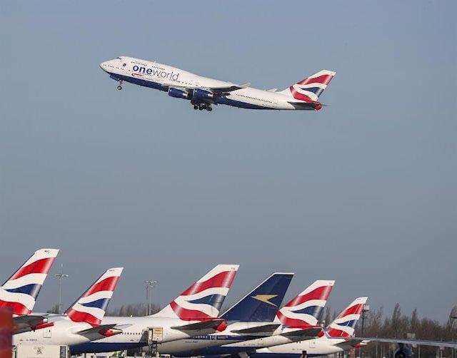 British Airways reinicia más rutas en agosto