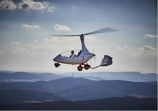 Calidus, un divertido helicóptero alemán que cautiva a los estadounidenses
