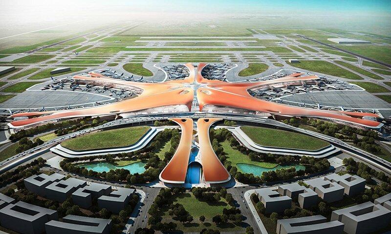 China tendrá el Aeropuerto más grande del mundo en 2019