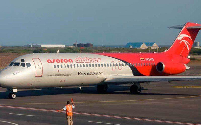 Comunicado: Aserca interrumpe sus vuelos hasta el 23 de febrero