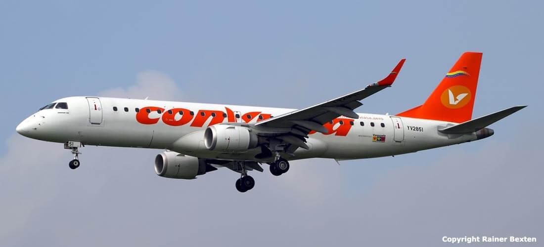 Conviasa tendrá vuelo directo entre la Isla de Margarita y Medellín (Colombia).