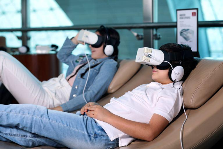 Emirates experiencia cinematográfica inmersiva en Dubái