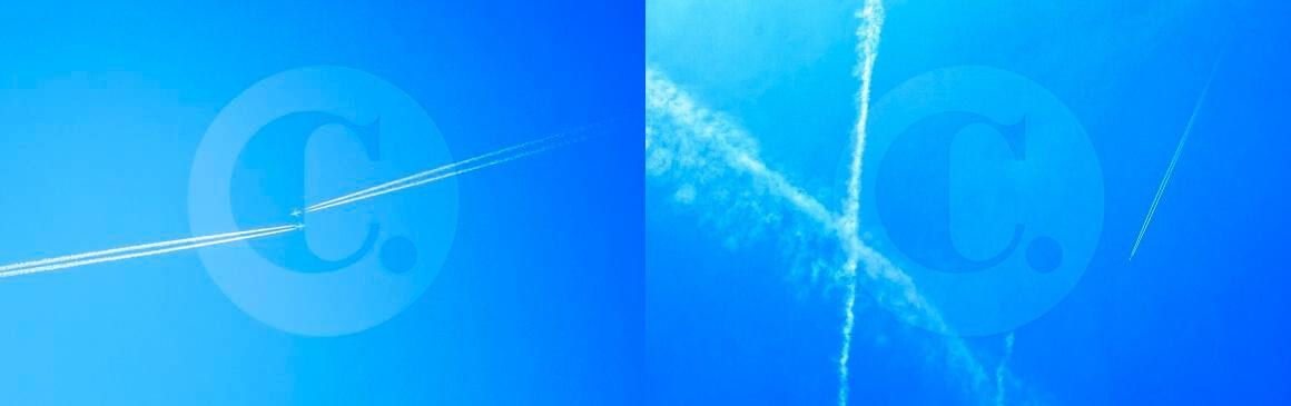 Estelas de los aviones, ¿vapor o químicos?