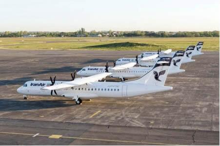 """""""Los cuatro primeros ATR 72-600 de Iran Air poco antes de su entrega"""""""