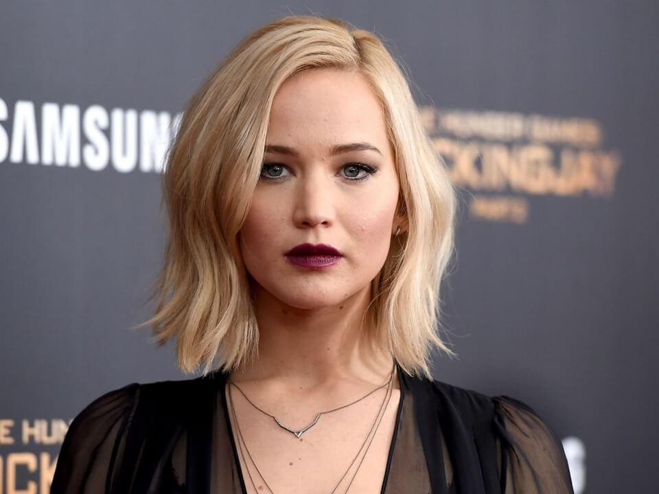 Jennifer Lawrence vivió una situación dramática a bordo de un avión