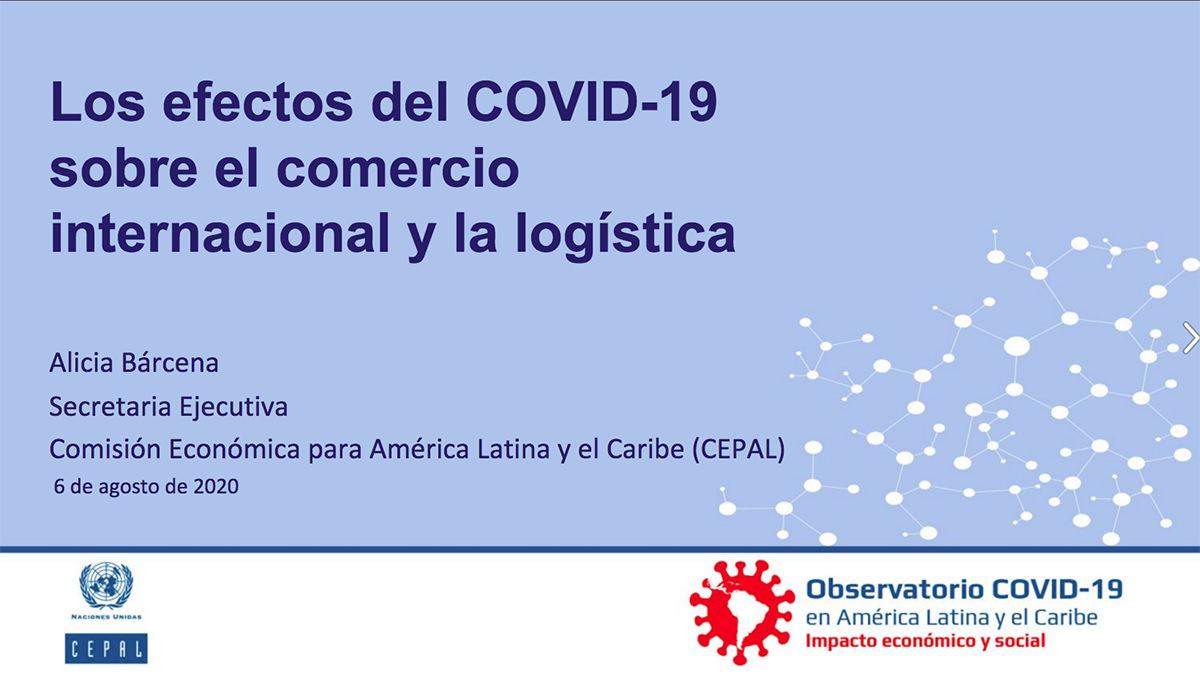 Los efectos del COVID-19 en el comercio internacional y la logistica
