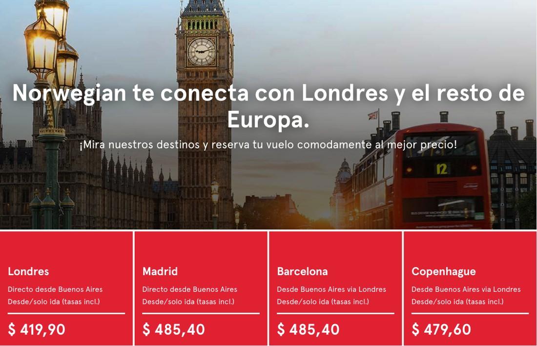 Norwegian Argentina con licencia para operar