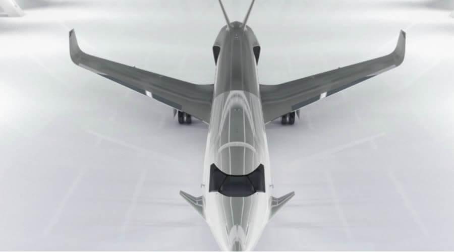 """Peugeot lanza su primer jet privado inspirado en el """"auto del futuro"""""""