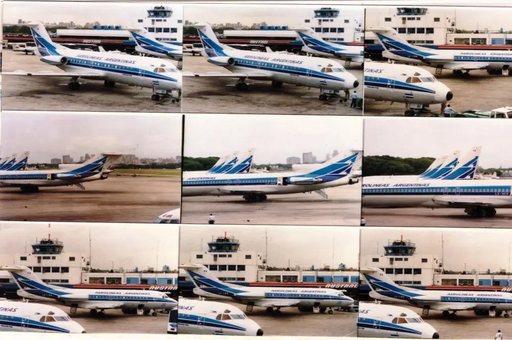 ¿Por qué Aerolíneas Argentinas está pintando un avión con el icónico diseño de los años 80?