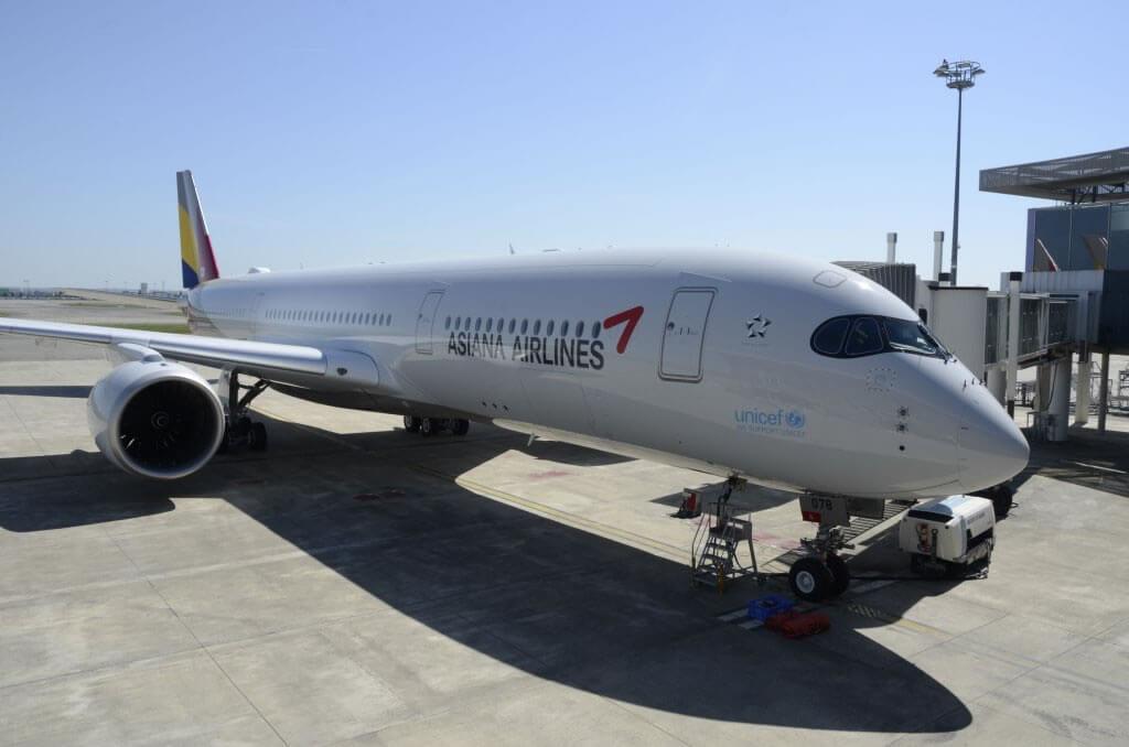 Primer Airbus A350 para Asiana