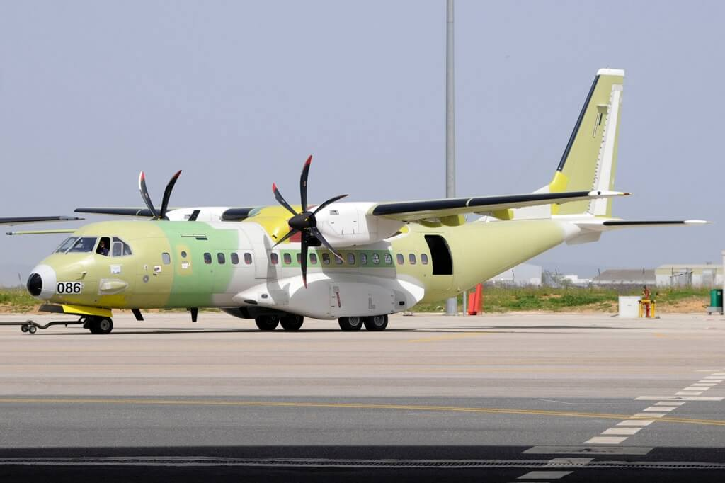 Primera venta del Airbus C295 en versión civil