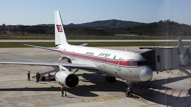 Un avion de la aerolinea norcoreana Air Koryo pierde parte del ala en pleno vuelo