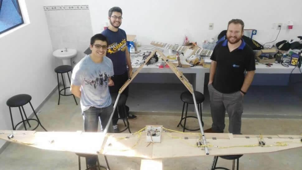 Un innovador dron paraguayo