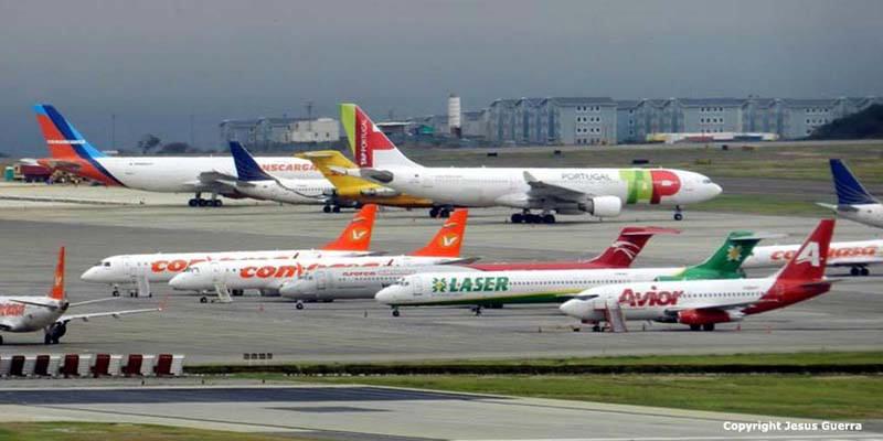 Venezuela extiende suspensión de vuelos comerciales y privados hasta el 12 de octubre